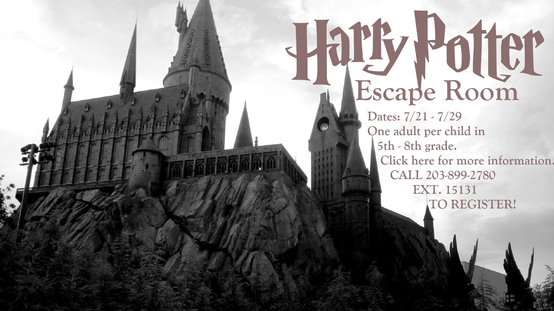 Harry Potter Picture for Escape Room